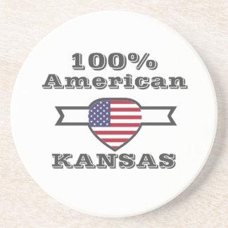 Porta-copos Americano de 100%, Kansas