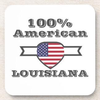 Porta-copos Americano de 100%, Louisiana
