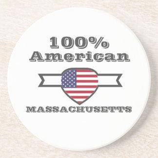 Porta-copos Americano de 100%, Massachusetts