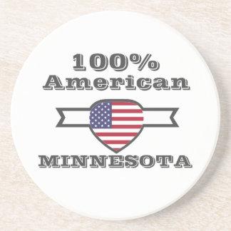 Porta-copos Americano de 100%, Minnesota