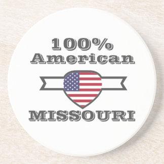 Porta-copos Americano de 100%, Missouri