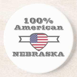 Porta-copos Americano de 100%, Nebraska