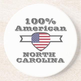 Porta-copos Americano de 100%, North Carolina