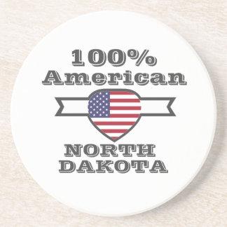 Porta-copos Americano de 100%, North Dakota