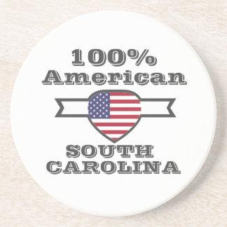 Porta-copos Americano de 100%, South Carolina