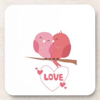 Porta Copos Amor do pássaro