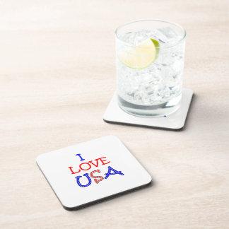 Porta-copos Amor patriótico EUA de I