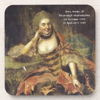 Porta-copos Anna Amalia de Brunsvique-Wolfenbuttel 1739