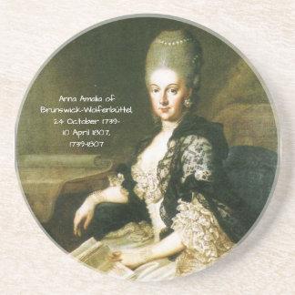 Porta-copos Anna Amalia de Brunsvique-Wolfenbuttel 1739-1807