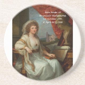 Porta-copos Anna Amalia de Brunsvique-Wolfenbuttel 1788