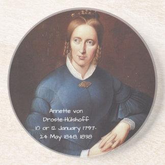 Porta-copos Annette von Droste-Hulshoff 1838