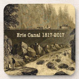 Porta Copos Anos bicentenários históricos do canal de Erie