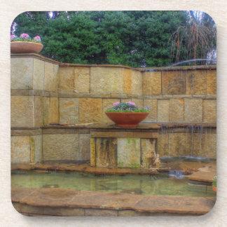 Porta-copos Arboreto de Dallas e entrada dos jardins botânicos