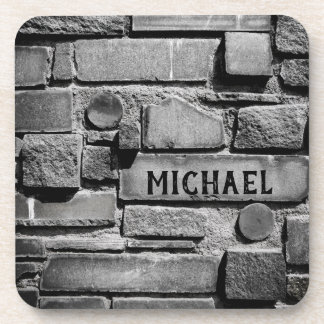 Porta Copos Arranjo legal da parede de tijolo de