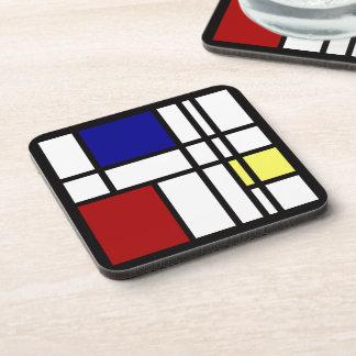 Porta-copos Arte da impressão de Mondrian