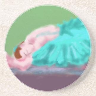 Porta-copos Arte de descanso do balé