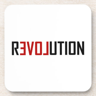 Porta-copos Arte do amor da revolução