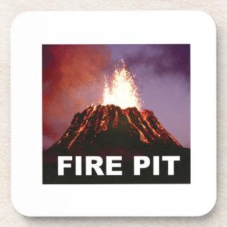 Porta Copos arte do poço do fogo