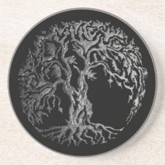 Porta-copos Árvore de Mehndi de vida (Henna) (prata)