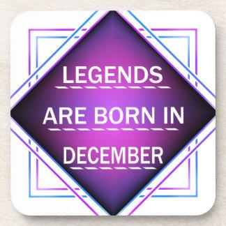 Porta Copos As legendas são nascidas em dezembro