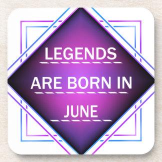 Porta Copos As legendas são nascidas em junho