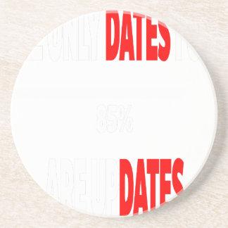Porta-copos As únicas datas onde eu obtenho são actualizações