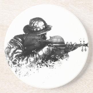 Porta-copos atirador furtivo do violino
