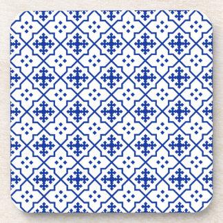Porta Copos Azul marroquino