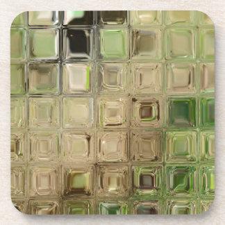 Porta Copos Azulejos do vidro verde