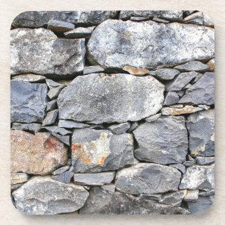 Porta Copos Backgound de pedras naturais como a parede