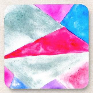 Porta-copos Background2 poligonal pintado
