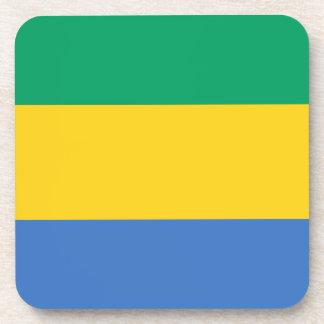 Porta Copos Baixo custo! Bandeira de Gabon
