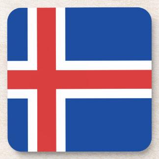 Porta-copos Baixo custo! Bandeira de Islândia