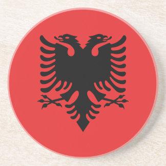 Porta-copos Bandeira albanesa patriótica