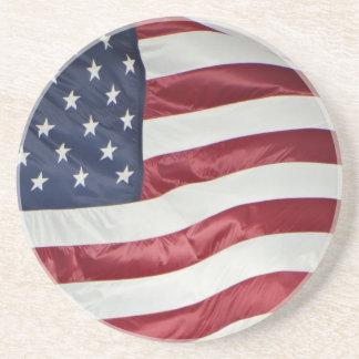 Porta-copos Bandeira americana, azul branco vermelho da