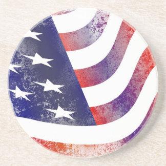 Porta-copos Bandeira americana do Grunge
