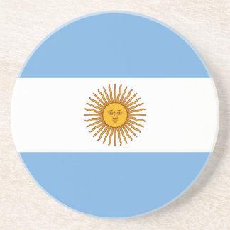 Porta-copos Bandeira argentina patriótica