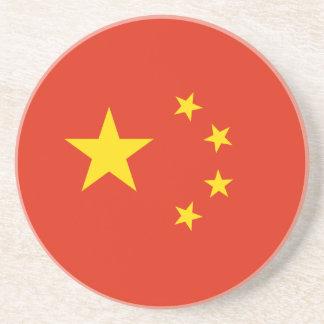 Porta-copos Bandeira chinesa patriótica
