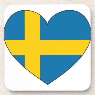 Porta-copos Bandeira da suecia simples