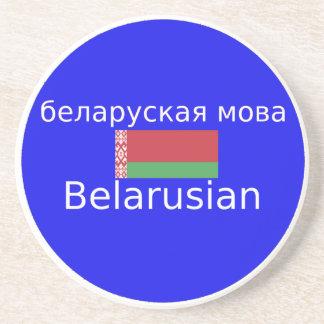 Porta-copos Bandeira de Belarus e design da língua