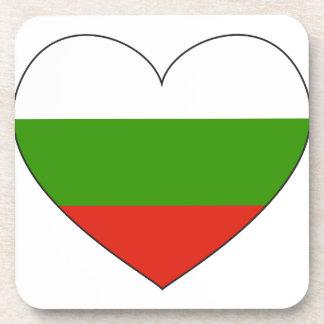 Porta Copos Bandeira de Bulgária simples