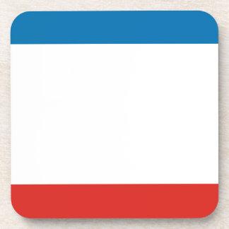 Porta-copos Bandeira de Crimeia