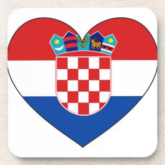 Porta-copos Bandeira de Croatia simples