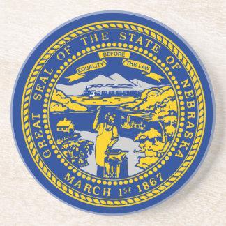 Porta-copos Bandeira de Nebraska