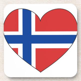 Porta Copos Bandeira de Noruega simples