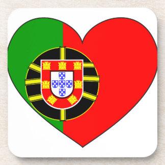 Porta Copos Bandeira de Portugal simples