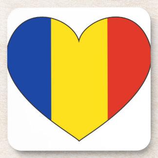 Porta Copos Bandeira de Romania simples
