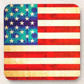 Porta-copos Bandeira do dinheiro de América