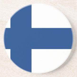 Porta-copos Bandeira do lippu de Finlandia - de Suomen -