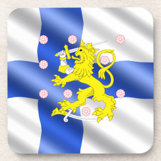 Porta-copos Bandeira finlandesa